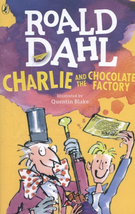 Charlie and the Chocolate Factory (Roald Dahl) boek