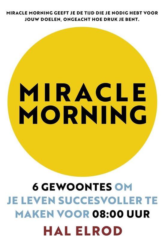 Miracle Morning (Hal Elrod) boek