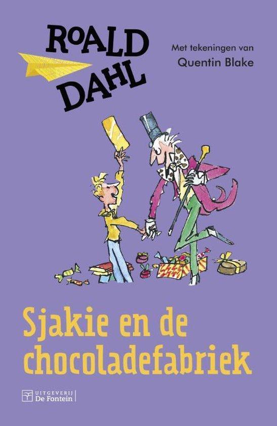 Sjakie en de chocoladefabriek (Roald Dahl) boek