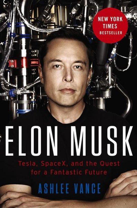 Elon Musk (Ashlee Vance) boek