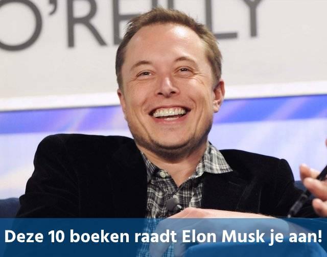 Deze 10 boeken raadt Elon Musk je aan!