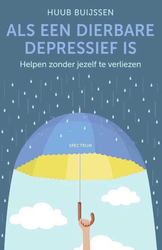 Als een dierbare depressief is (Huub Buijssen) boek
