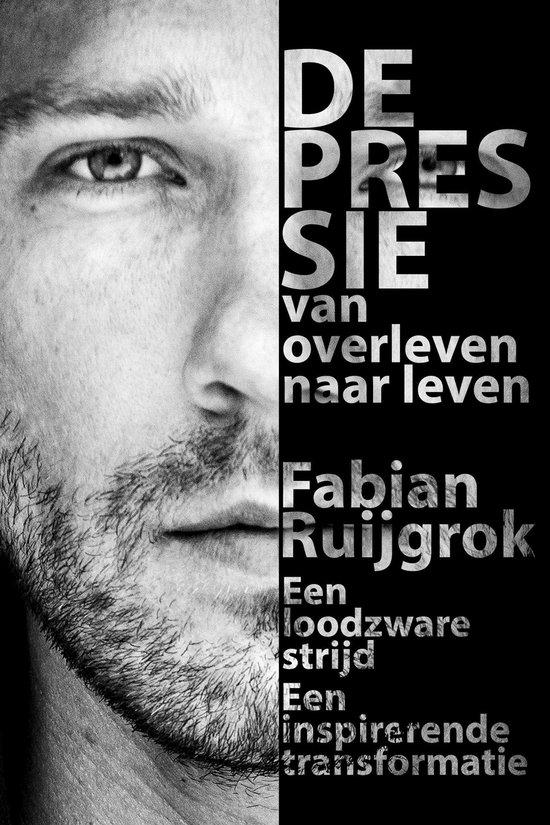 Depressie - Van overleven naar leven (Fabian Ruijgrok) boek
