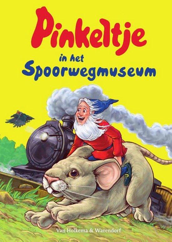 Pinkeltje in het Spoorwegmuseum (Dick Laan) boek