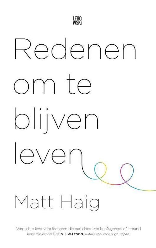 Redenen om te blijven leven (Matt Haig) boek