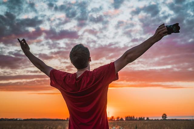 Victory zonsondergang