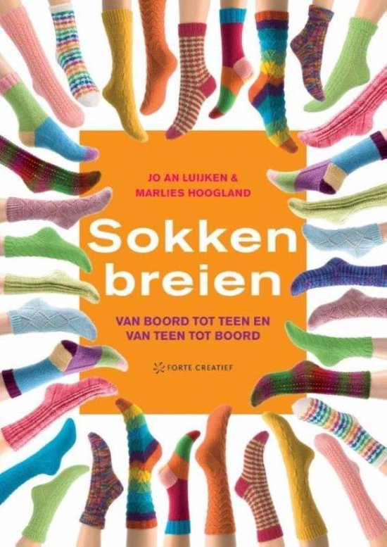 Sokken breien (Jo An Luijken & Marlies Hoogland) boek