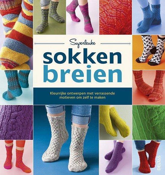 Superleuke sokken breien (Centrale Uitgeverij Deltas) boek