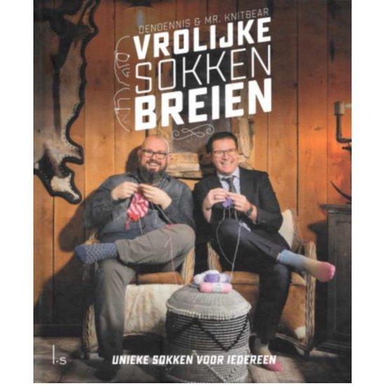 Vrolijke sokken breien (Dendennis & Mr. Knitbear) boek
