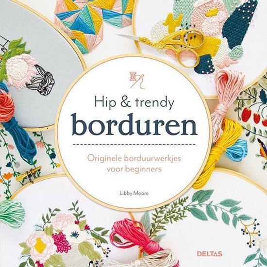 Hip & trendy borduren (Libby Moore) boek