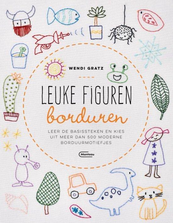 Leuke figuren borduren (Wendi Gratz) boek