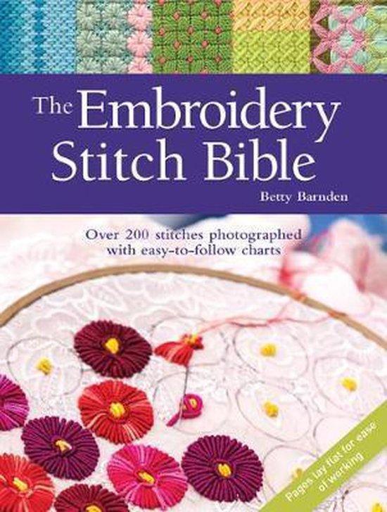 The Embroidery Stitch Bible (Betty Barnden) boek