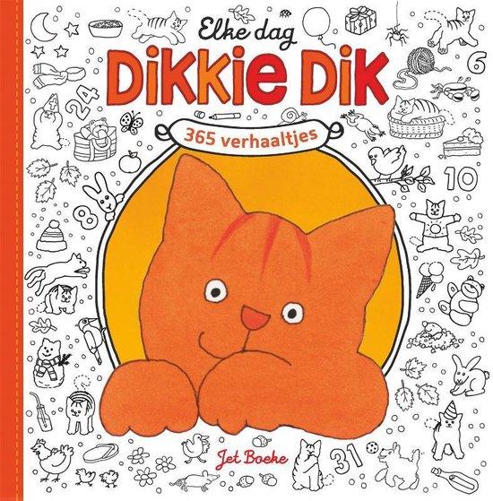 Elke dag Dikkie Dik (Jet Boeke) boek