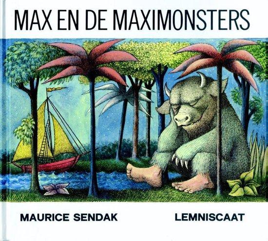 Max en de Maximonsters (Maurice Sendak) boek