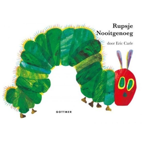 Rupsje Nooitgenoeg (Eric Carle) boek