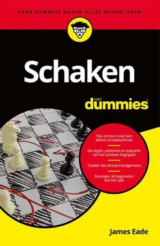 Schaken voor dummies (James Eade) boek