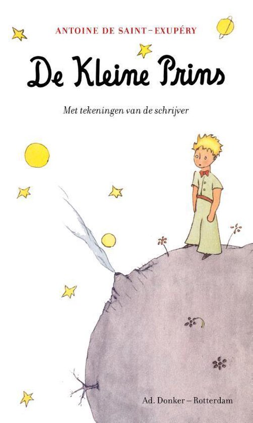 De Kleine Prins (Antoine de Saint-Exupéry) boek