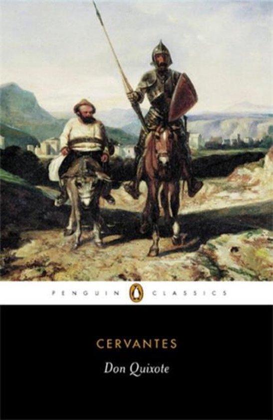 Don Quixote (Miguel de Cervantes) boek