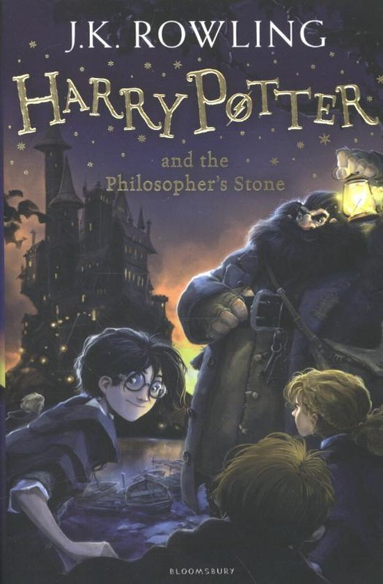 Harry Potter and the Philosopher's Stone (J.K. Rowling) boek