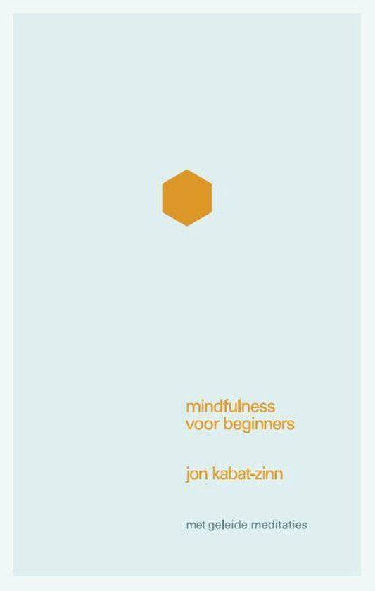 Mindfulness voor beginners (Jon Kabat-Zinn) boek