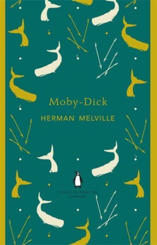 Moby-Dick (Herman Melville) boek Engels