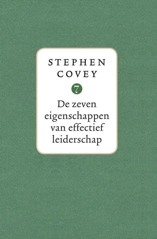 De zeven eigenschappen van effectief leiderschap (Stephen Covey) boek