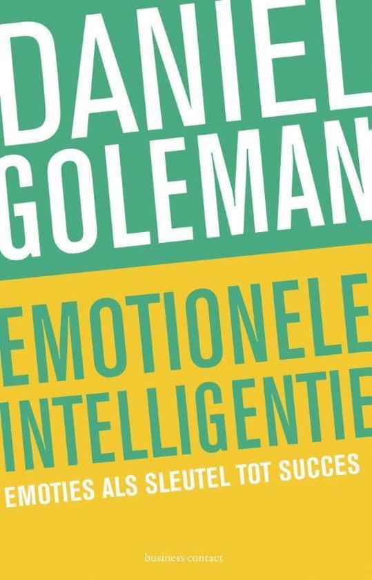 Emotionele intelligentie (Daniel Goleman) boek