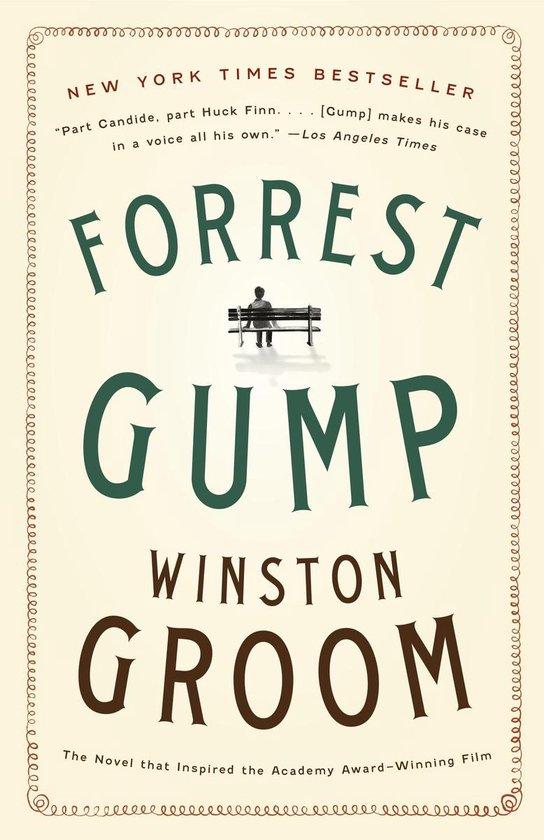 Forrest Gump (Winston Groom) boek