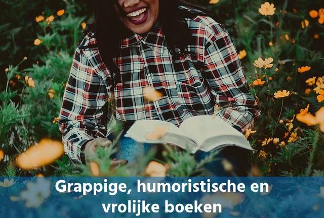 Grappige, humoristische en vrolijke boeken