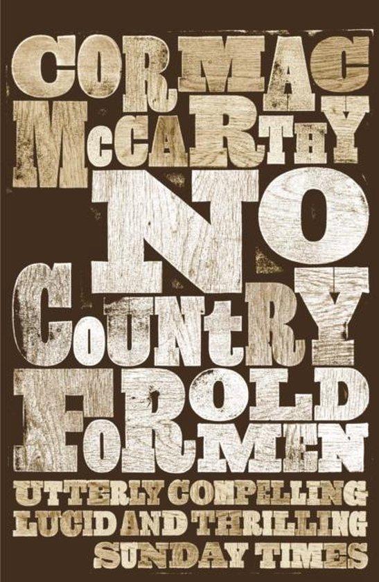 No Country for Old Men (Cormac McCarthy) boek