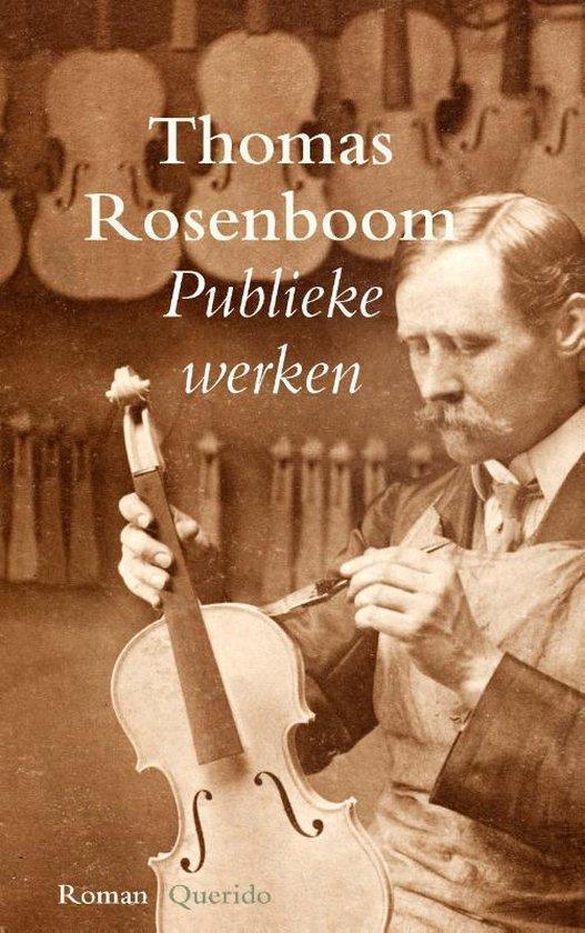 Publieke werken (Thomas Rosenboom) boek