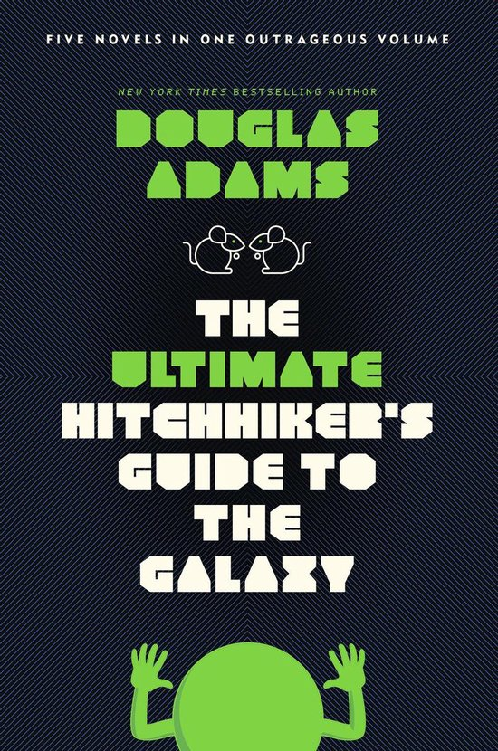 The Ultimate Hitchhiker's Guide to the Galaxy (Douglas Adams) boek