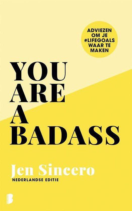 You Are a Badass (Jen Sincero) boek