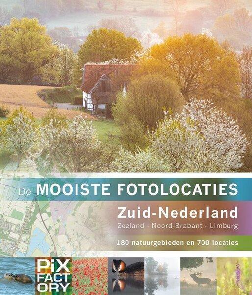 De mooiste fotolocaties - Zuid-Nederland (Pixfactory) boek