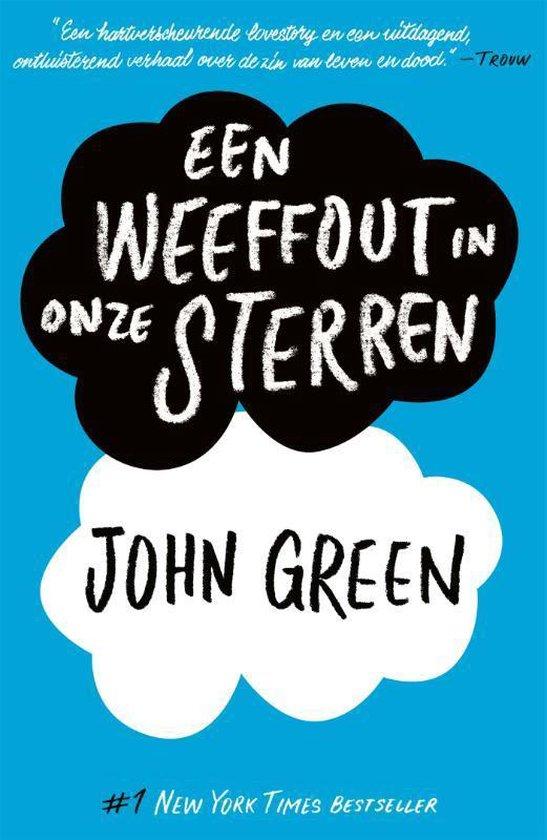 Een weeffout in onze sterren (John Green) boek